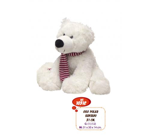 artesania beatriz 10312 Мягкая игрушка Медведь 31 см