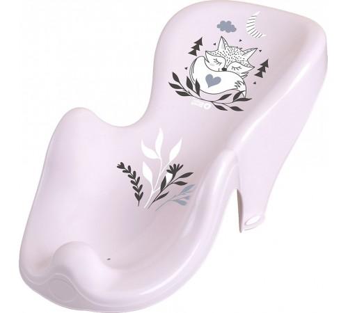 """tega baby Сиденье для ванны антискользящее """"Лисёнок"""" pb-lis-003-130 розовый"""