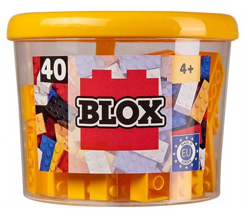 """simba 4118857 constructor """"blox"""" (40 el.) galben"""