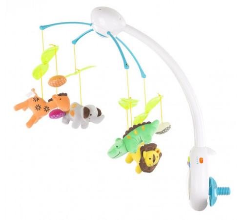 "Jucării pentru Copii - Magazin Online de Jucării ieftine in Chisinau Baby-Boom in Moldova chipolino mils02114zo carusel muzical cu telecomandă ""zoo"""