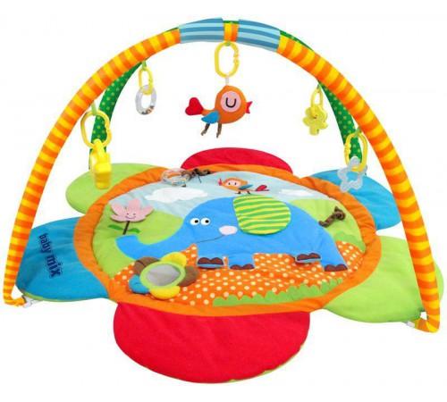"""baby mix tk/3287 Игровой развивающий коврик """"Слоник"""""""