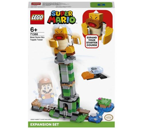 "lego super mario 71388 Конструктор ""Падающая башня босса братца-сумо"" (231 дет.)"