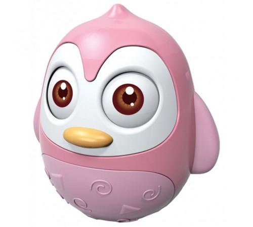 """Детскиймагазин в Кишиневе в Молдове baby mix hs-0202 pink Неваляшка """"Пингвин"""""""