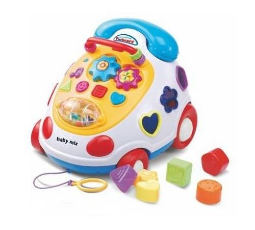 """baby mix pl-215203 Игрушка обучающая """"Телефон"""""""