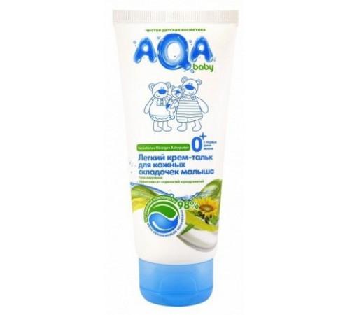 80.16 aqa baby Крем-тальк для кожных складочек малыша (100 мл.)