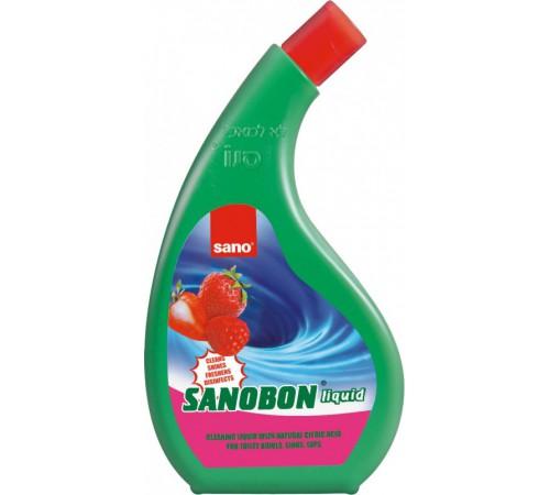 sano sanobon strawberry Средство для мытья унитазов (750 мл) 883042