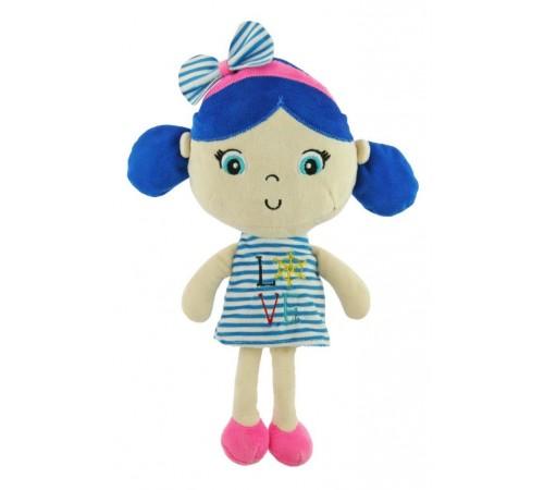 "baby mix stk-18071g blue Кукла плюшевая ""Морячка"""
