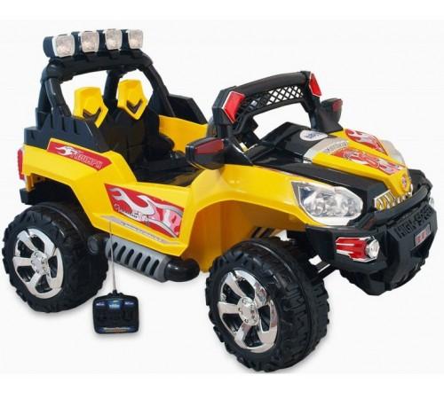 baby mix ur-pb-801 Машина на аккумуляторе жёлтый