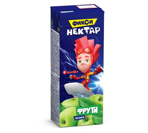 Детское питание в Молдове Фрути нектар Яблоко 0,2л  (Фиксики)