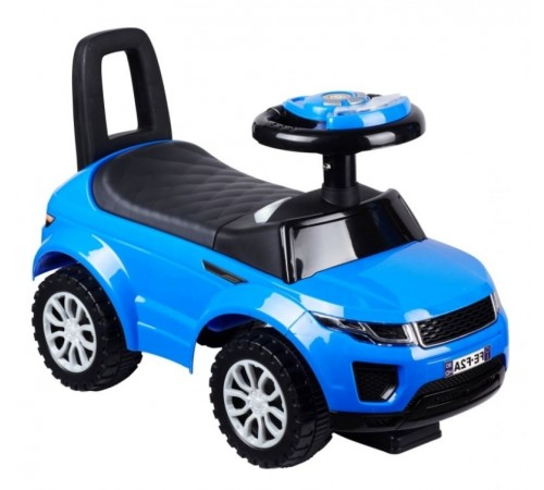 baby mix ur-hz-613w blue Машина детская голубой