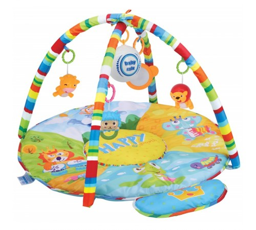 "baby mix hs-789-13 Музыкальный коврик ""Сафари"""