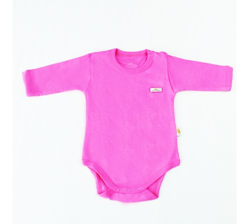 mini damla 43129 Боди с длинным рукавом розовый