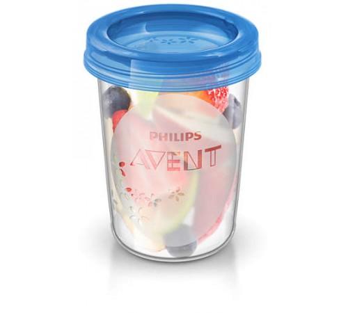 avent scf639/05 Контейнеры для хранения продуктов, 5 шт х 240 мл