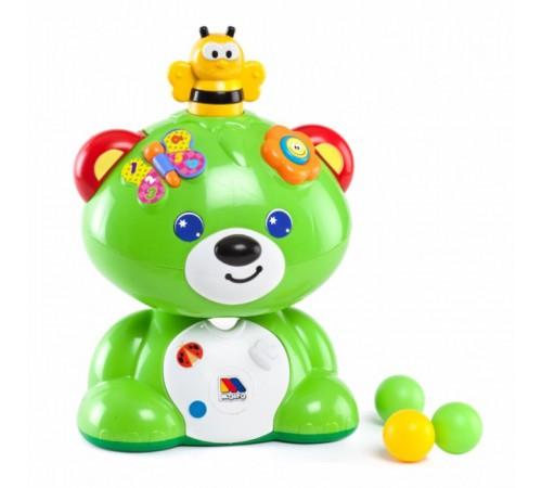 "molto 13501 Музыкальная игрушка ""Мишка "" зелёный"