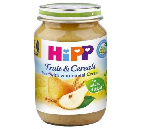hipp 4723 pireu de pere cu cereale 190 gr. (4m+)