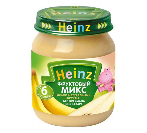 heinz piure mix din fructe 120g