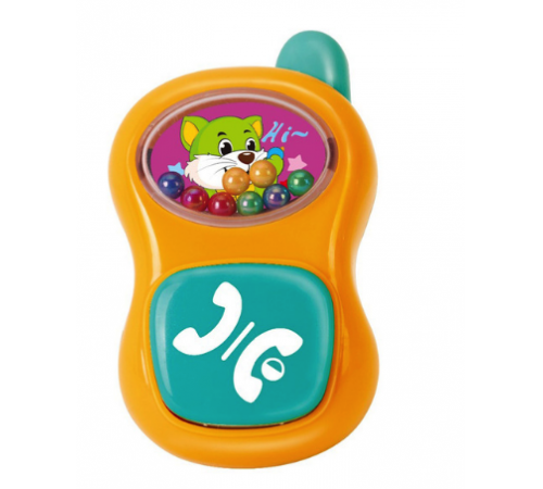 "hola toys  939-7 Погремушка ""Телефон"""