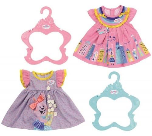 Детскиймагазин в Кишиневе в Молдове zapf creation 828243 Платье для baby born (2 шт.) в асс.