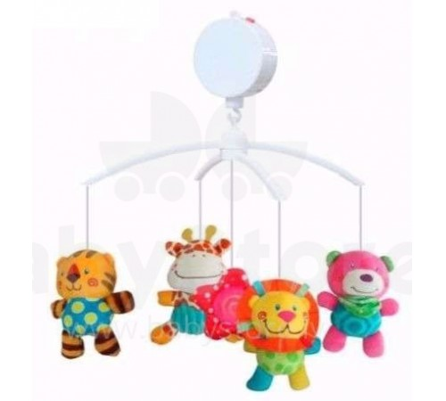 "Jucării pentru Copii - Magazin Online de Jucării ieftine in Chisinau Baby-Boom in Moldova baby mix tk/444m  carusel de pluș ""zoo"""