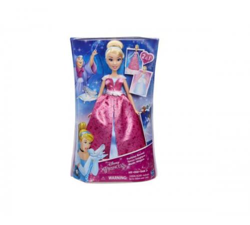 disney princess c0544 Модная Кукла Золушка В Роскошном Платье-Трансформере