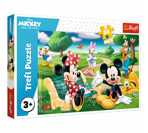 "Jucării pentru Copii - Magazin Online de Jucării ieftine in Chisinau Baby-Boom in Moldova trefl 14344 puzzle  ""mickey mouse printre prieteni"" (24 el.)"