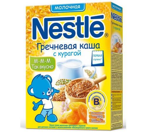 Детское питание в Молдове nestle Каша гречневая молочная с курагой (250 гр.) первая ступень