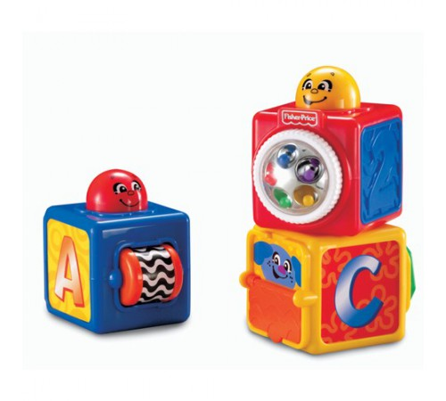 Игрушки в Молдове fisher-price 74121 Кубики с сюрпризами