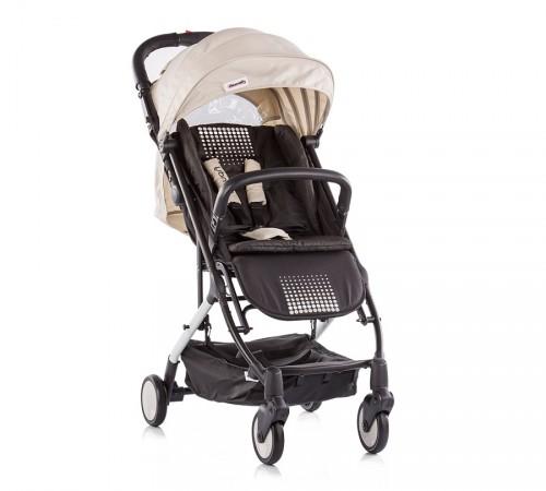 chipolino коляска trendy lktr01704be бежевая