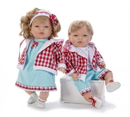 Детскиймагазин в Кишиневе в Молдове nines Кукла смеющаяся minerva vichy (45 см.) 1311