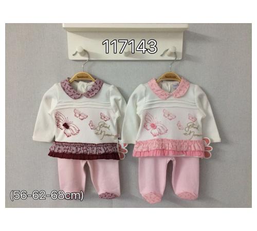 Одежда для малышей в Молдове twetoon baby 117143 Комплект 2ед. (штанишки и батник)