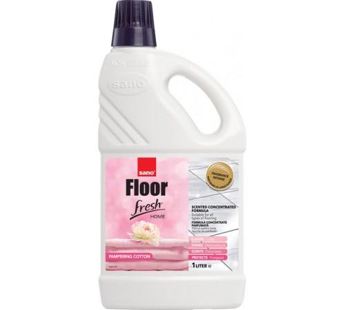 Средство для мытья полов fresh home pampering cotton 1л 991044