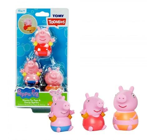 """tomy 27730 Набор игрушек для купания """"Свинка Пеппа"""" e73105 в асс."""