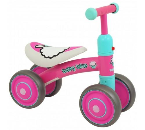 baby mix ur-et-z7 pink run bike cu patru roți