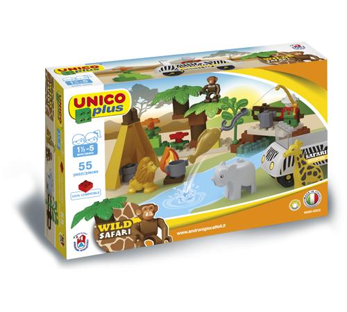 "Jucării pentru Copii - Magazin Online de Jucării ieftine in Chisinau Baby-Boom in Moldova androni giocattoli 8560-0000  constructor ""safari"" (55 el.)"