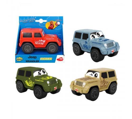 """Детскиймагазин в Кишиневе в Молдове dickie 3811001 Машина """"jeep wrangler sgueezy"""" в асс."""