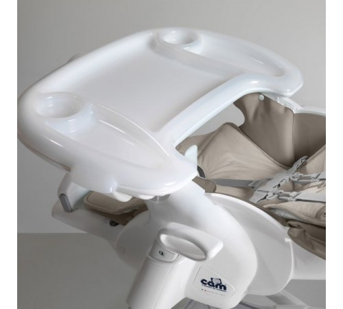 cam Стульчик для кормления istante c242 Зайка серый