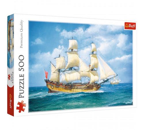 """Jucării pentru Copii - Magazin Online de Jucării ieftine in Chisinau Baby-Boom in Moldova trefl 37399 puzzle """"călătorie pe mare"""" (500 el.)"""