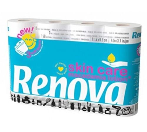 renova Бумага гигиеническая skin care (12) 8024693