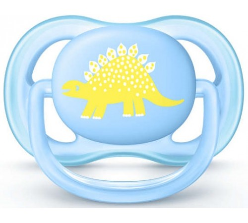 Детское питание в Молдове avent scf544/10 Пустышка силиконовая ultra-air  (0-6 м.) 1 шт.