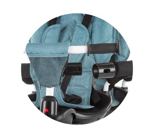 chipolino triciclu pentru gemeni 2fun trk2f0192oc albastru