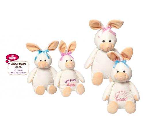 Детскиймагазин в Кишиневе в Молдове artesania beatriz 10574 Мягкая игрушка Кролик 32 см