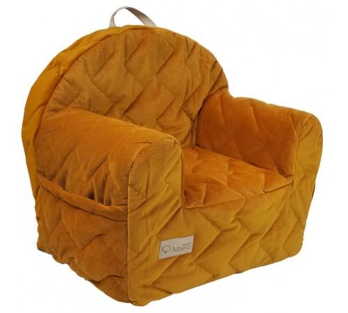 klups Детское кресло velvet kids v107 медовый