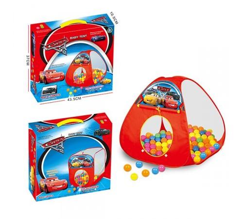 """op СЕ01.18 Детская палатка с шариками """"Тачки"""""""