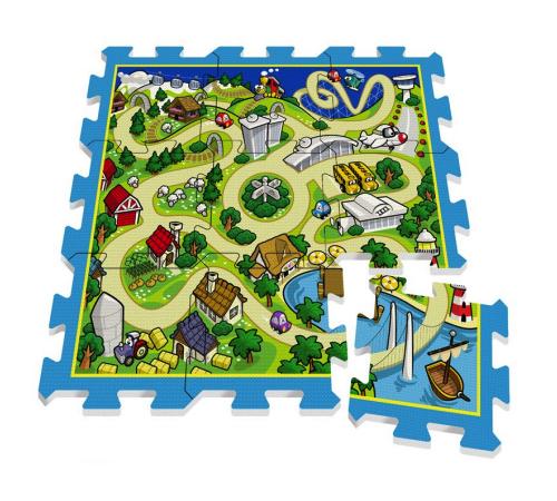 Jucării pentru Copii - Magazin Online de Jucării ieftine in Chisinau Baby-Boom in Moldova stamp tp674006 covoras harta orasului