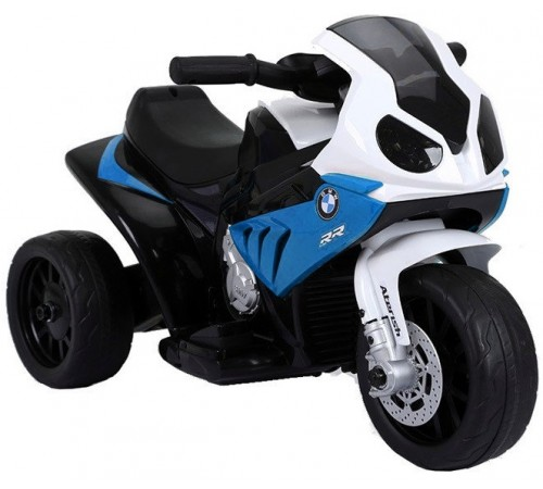 "baby mix oc-8010248b Мотоцикл на аккумуляторе ""bmw rr s1000"" синий"