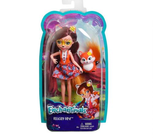 enchantimals dvh89 Кукла Лисичка