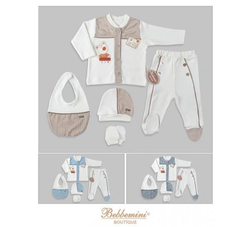 """bebbemini bm-1849 Комплект из 5 единиц """"boy"""" в асс."""