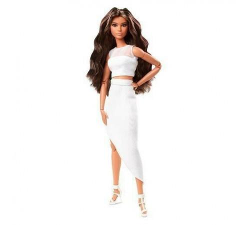 "barbie gtd89 Кукла Барби ""looks"" брюнетка с волнистыми волосами"