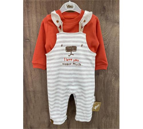 Одежда для малышей в Молдове flexi 217365 Костюм 2 единицы (56-62-68 см.)