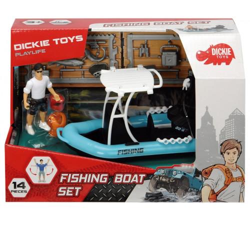 """dickie 3833004 Игровой набор """"Рыбацкая лодка"""" и аксессуарами"""